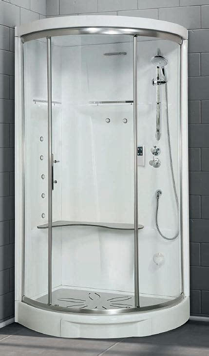 Shower Pod by Novellini New Offset Quadrant Shower Pod