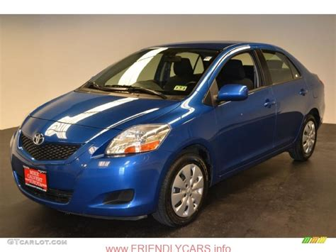 Toyota Yaris Hd Picture by Awesome Toyota Yaris 2013 Sedan Blue Car Images Hd 2010