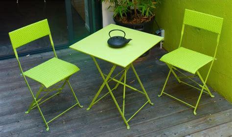 table et chaise de jardin pas cher table et fauteuil de jardin pas cher 2 places mezzo