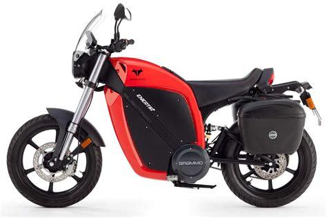 2014 Brammo Enertia Electric Motorcycle, Size