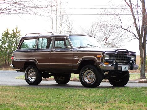 jeep wagoneer 1990 1990 jeep grand wagoneer information and photos