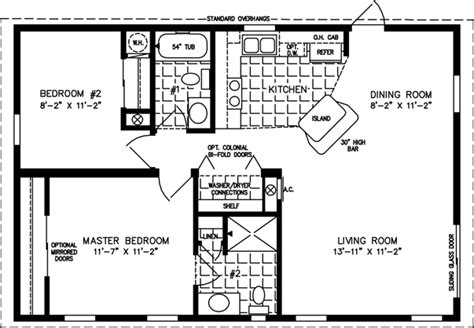 800 To 999 Sq Ft Manufactured Home Floor Plans