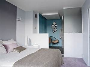 idee deco chambre suite parentale With idee decoration chambre parentale