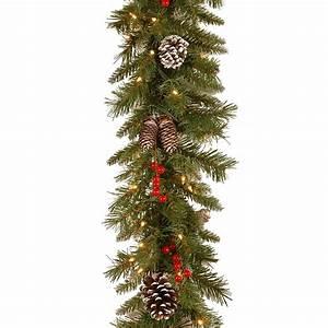 10, Best, Christmas, Garland, Ideas, For, 2018