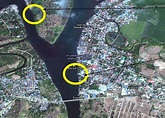 Sampling Sites in Maragondon River Showing Stations 1 and ...