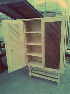How to Build Pallet Cabinet for Storage