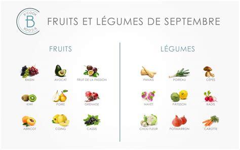 légumes de septembre les fruits et l 233 gumes du mois de septembre b cook