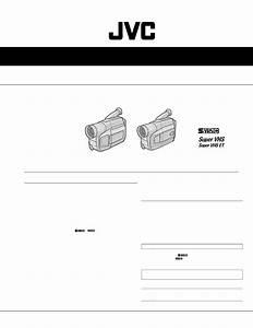 Schematic Diagram Manual Jvc Gr Sx19ef Gr Sxm29ef Compact Vhs Camcorder