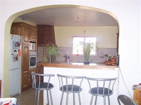 deco maison cuisine ouverte exemple décoration cuisine ouverte