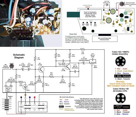 motorola mic wiring diagram motorola mic parts wiring
