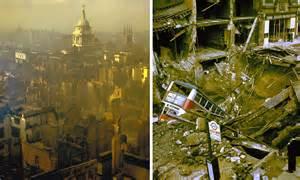 blitz london colour war ii bombers wwii during nazi britain under siege
