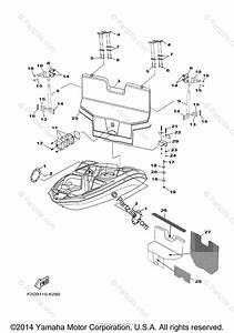 Yamaha Boat 2013 Oem Parts Diagram For Deck Hatch 2
