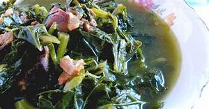 Cooking with KSouthern Style Collard Greens {Granny's