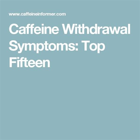 My headache went away within 10 minutes of drinking i guess you can get become addicted to caffeine in a sense. Caffeine Withdrawal Symptoms: Top Fifteen   Caffeine withdrawal symptoms, Caffeine withdrawal ...