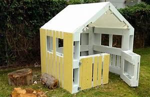 diy fabriquez une cabane avec des palettes en bois en 5 With construire une maisonnette en bois