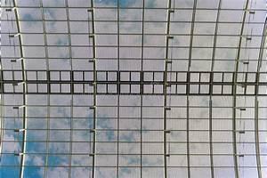 Toit En Verre Prix : d tail du toit en verre photo stock image du terminal ~ Premium-room.com Idées de Décoration