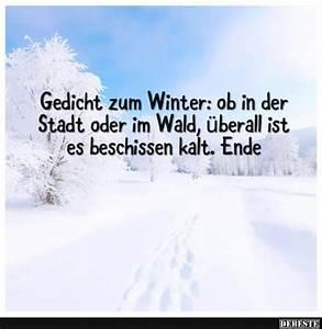 Sprüche Winter Schnee : gedicht zum winter ob in der stadt oder im wald lustige bilder spr che witze echt lustig ~ Watch28wear.com Haus und Dekorationen