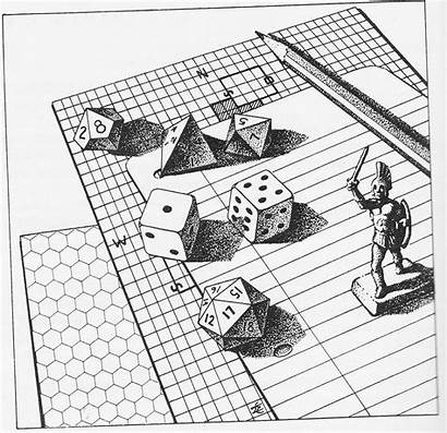 Character Dungeons Rpg Dragons French Roll Creation