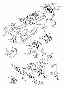 Husqvarna Yth 2042 Parts List And Diagram