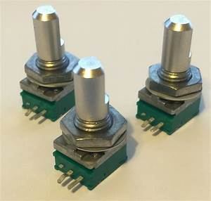 New    Three Green Replacement Volume Potentiometer For
