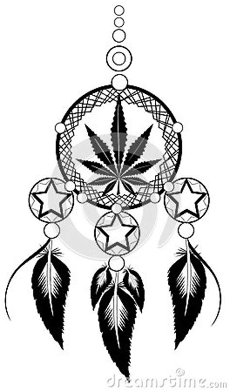 banishes thoughts  marijuana leaf stock vector image