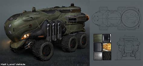 kett land vehicle characters art mass effect andromeda