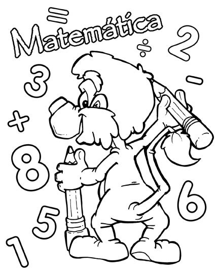 Carátulas para cuadernos escolares Dibujos para pintar
