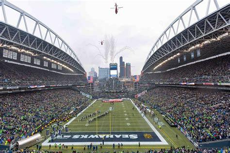 seattle seahawks unveil revamped menu football stadium