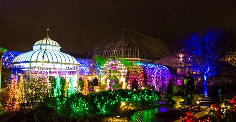 Dazzeling Holiday Fun At Phipps' Winter Light Garden Show