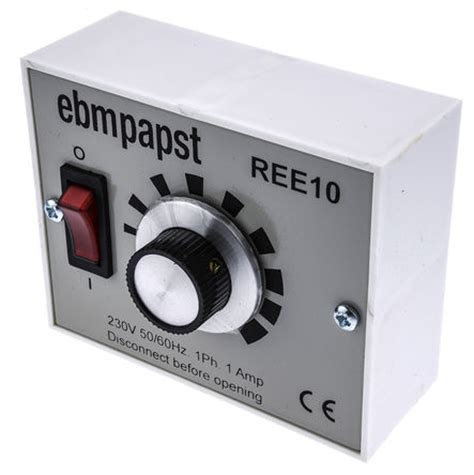 variable fan speed controller ree10 fan speed controller variable 230 v 1a ebm papst