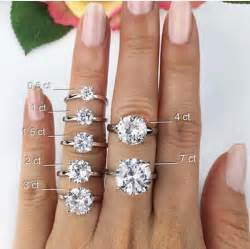 2 karat engagement ring 25 best ideas about sizes on 2 carat ring 3ct engagement ring and