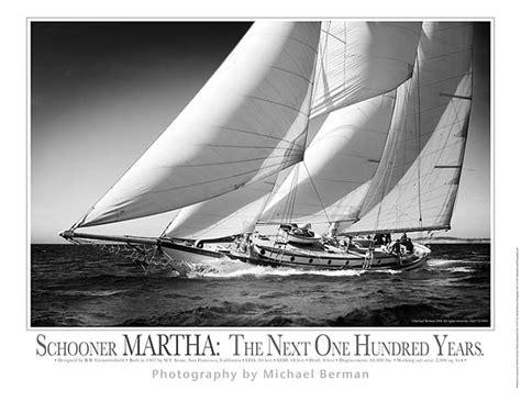 large sailboat wall decor schooner martha the next 100 years michael berman