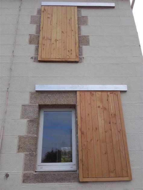 volets coulissants bois finist 232 re plouguerneau maisons bois acacia
