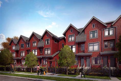 2 farmhouse plans avalon mews a townhouse presale in east vancouver