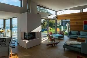 Maison Moderne Toit Plat : maison moderne bois savoie bourget du lac 73 ~ Nature-et-papiers.com Idées de Décoration