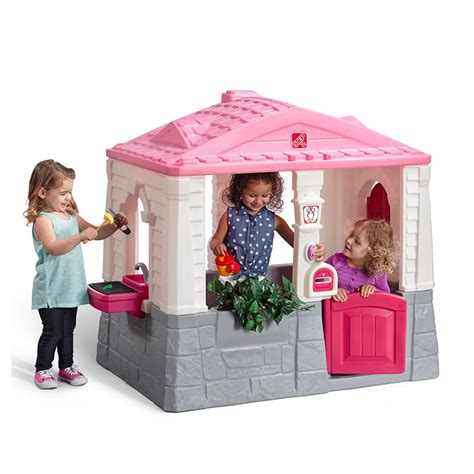 the cottage grill happy home cottage grill pink playhouse step2