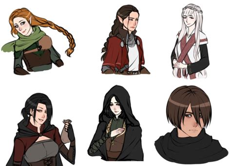 Dnd Characters To Do By Crimsonsnows On Deviantart