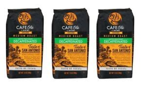 Cafe ole is proud to serve you fresh air roasted coffee, rite here in denver, colorado. Cafe Ole Taste of Texas San Antonio Ground DECAF Coffee 12 ...