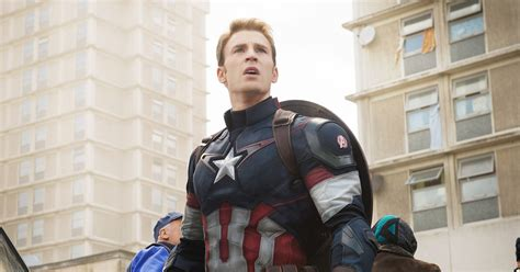 Chris Evans Teases That He's Done Playing Captain America