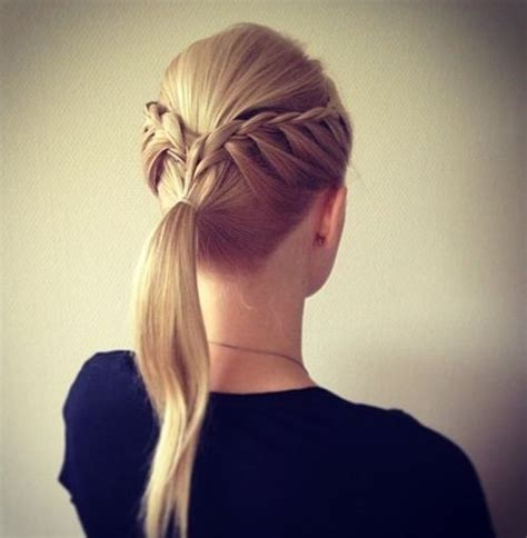 Braided Ponytail Hairstyles For by 14 Braided Ponytail Hairstyles New Ways To Style A Braid