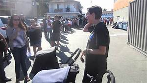 People Line Up to Buy Bugaboo Products - YouTube