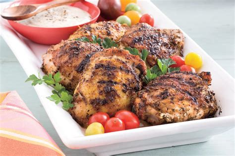 Grilled Chicken With White Barbecue Sauce  Best Dinner