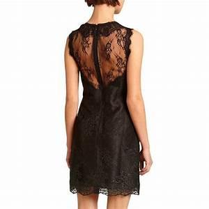 morgan robe en dentelle noir brandalley With robe dentelle morgan