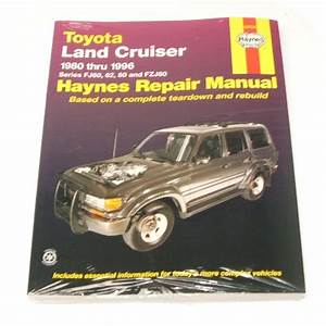 Manual Book Toyota Land Cruiser Fj60 Fj62 Fzj80 Owners