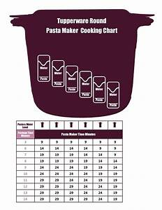 Tupperware Pasta Maker U0026 39 S Cooking Chart