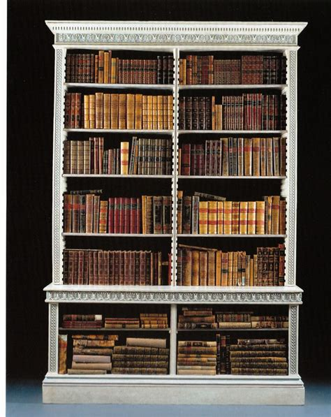 the middleton park library bookcases english circa 1806