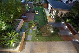 Modern House Beautiful Terrace And Landscape Modern Landscape Design Ideas From Rolling Stone Landscapes