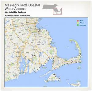 Coastal Water Access Maps