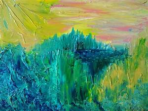 Dream Abstract Acrylic Painting FREE SHIPPING Impasto ...