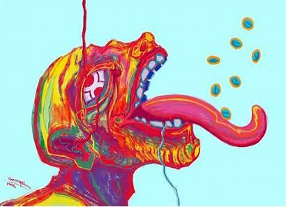 Drugs Digital Colorful Backgrounds Wallpapers Desktop Wallup